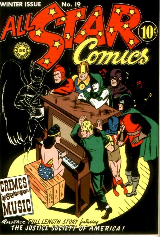 All Star Comics Issue 19