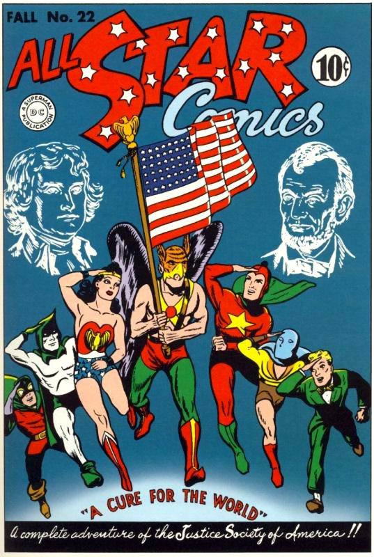 All Star Comics Issue 22