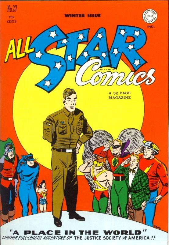 All Star Comics issue 27