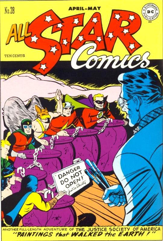 All Star Comics issue 28