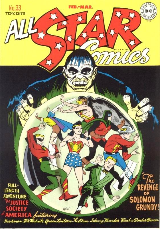 All Star Comics issue 33