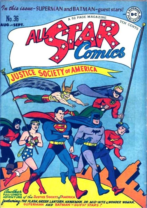 All Star Comics issue 36