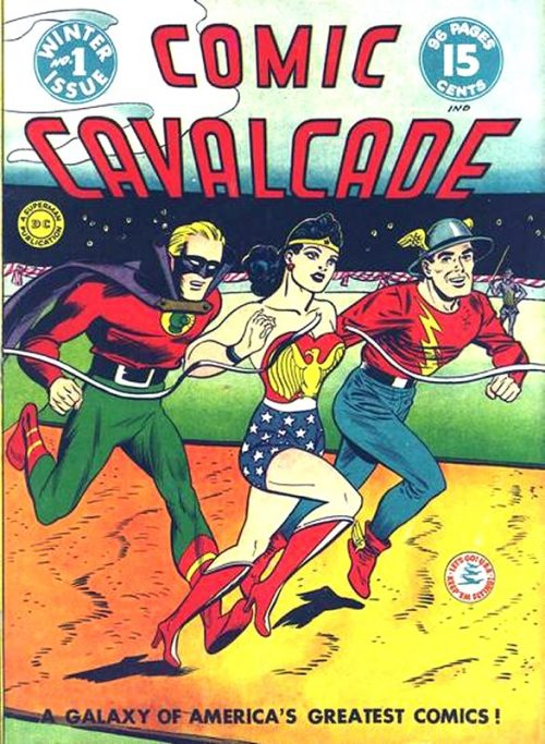 Comic Cavalcade Issue 1