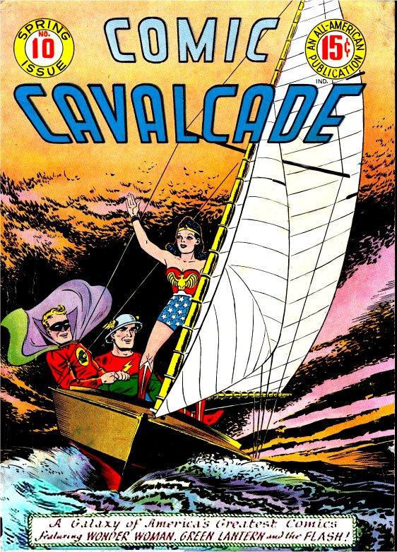 Comic Cavalcade Issue 10