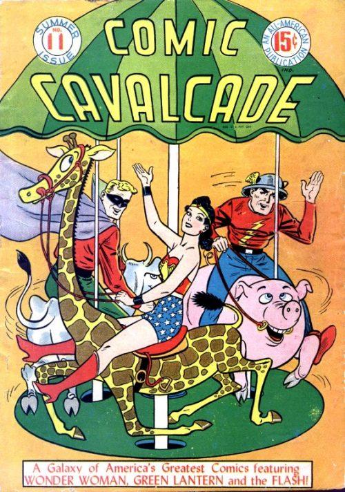 Comic Cavalcade Issue 11