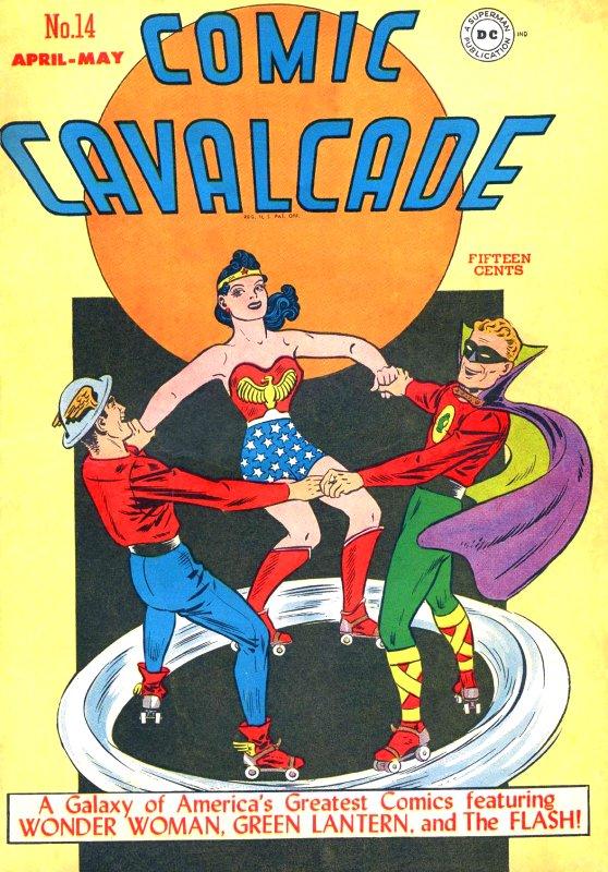 Comic Cavalcade Issue 14