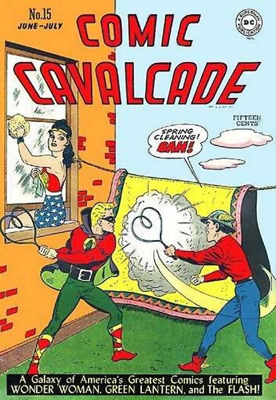 Comic Cavalcade Issue 15