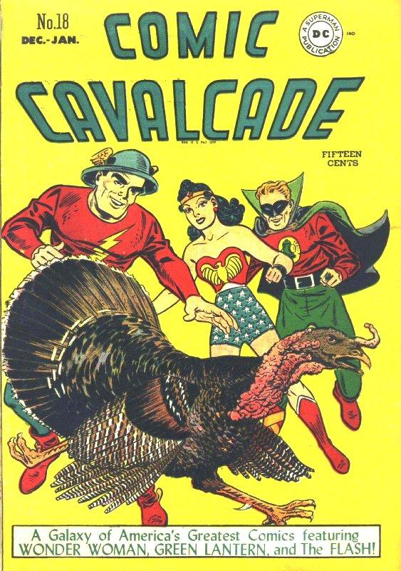 Comic Cavalcade Issue 18
