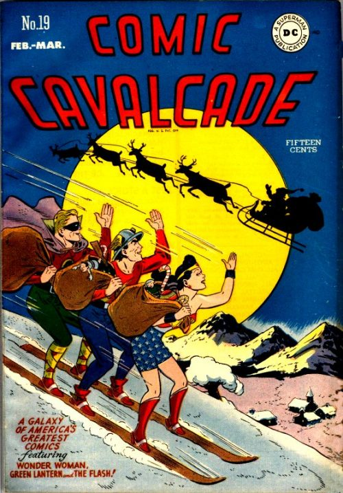 Comic Cavalcade Issue 19