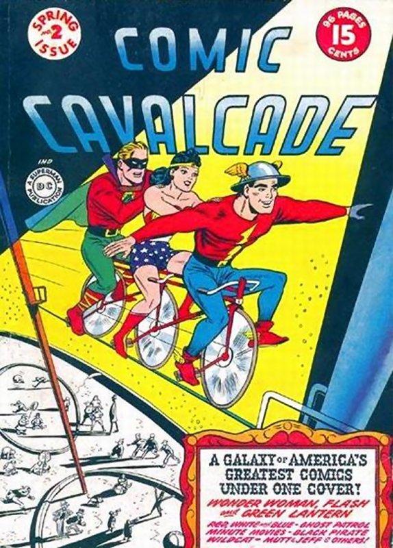 Comic Cavalcade issue 2
