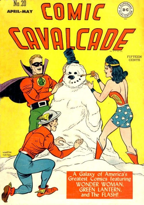 Comic Cavalcade Issue 20