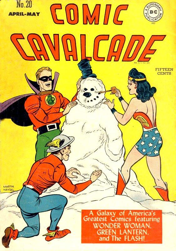 Comic Cavalcade Issue 20