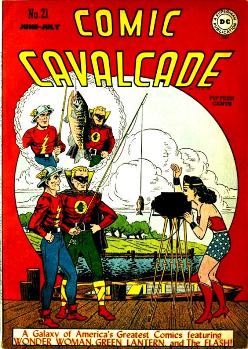 Comic Cavalcade Issue 21