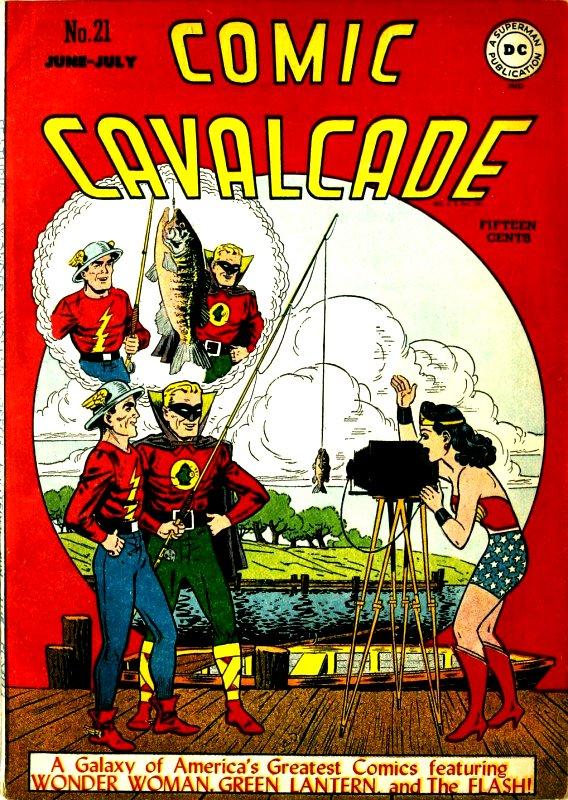 Comic Cavalcade Issue 21