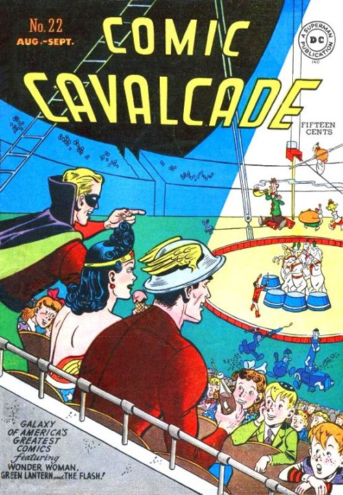 Comic Cavalcade Issue 22