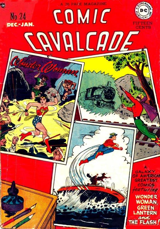 Comic Cavalcade Issue 24