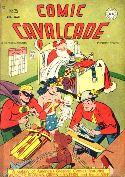Comic Cavalcade Issue 25
