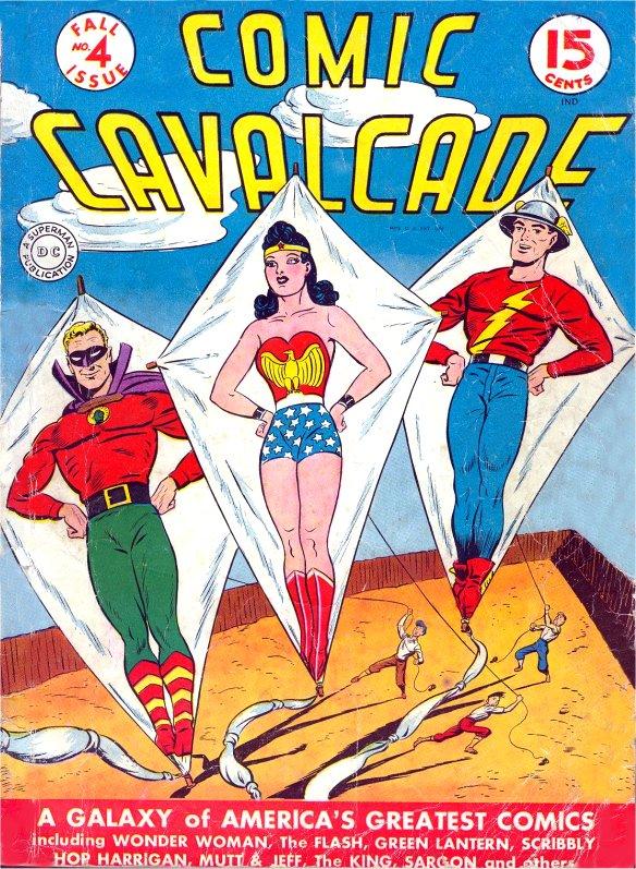 Comic Cavalcade Issue 4