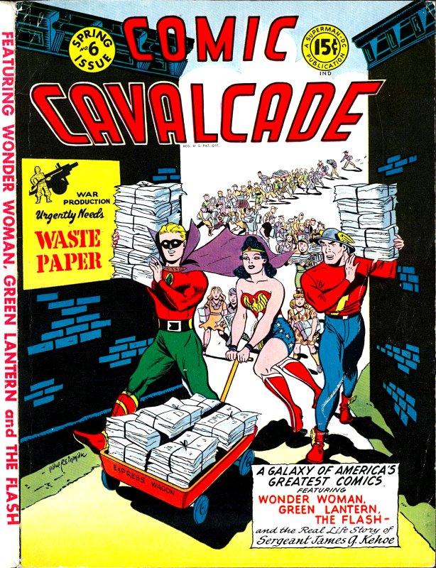 Comic Cavalcade Issue 6