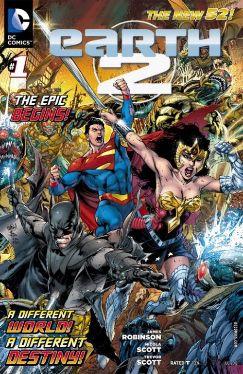 Earth 2 Issue 1 Cover