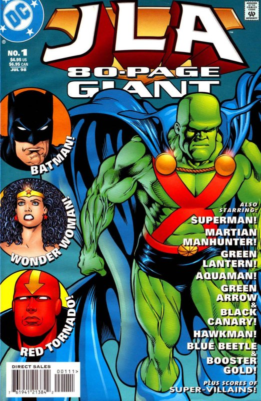 JLA 80 Page Giant Issue 1
