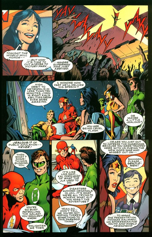 Justice League Another Nail - 1 - Amazon Archives