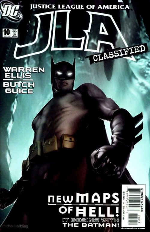 JLA Classified issue 10