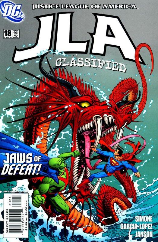 JLA Classified issue 18