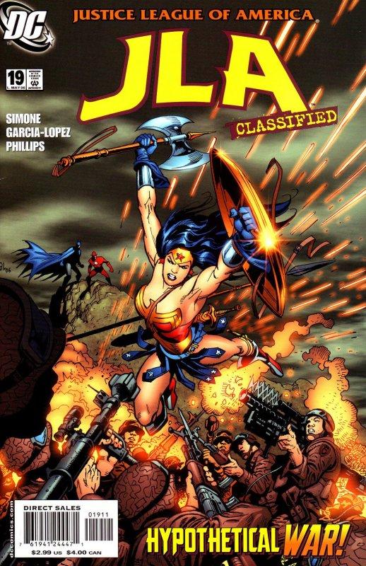 JLA Classified issue 19