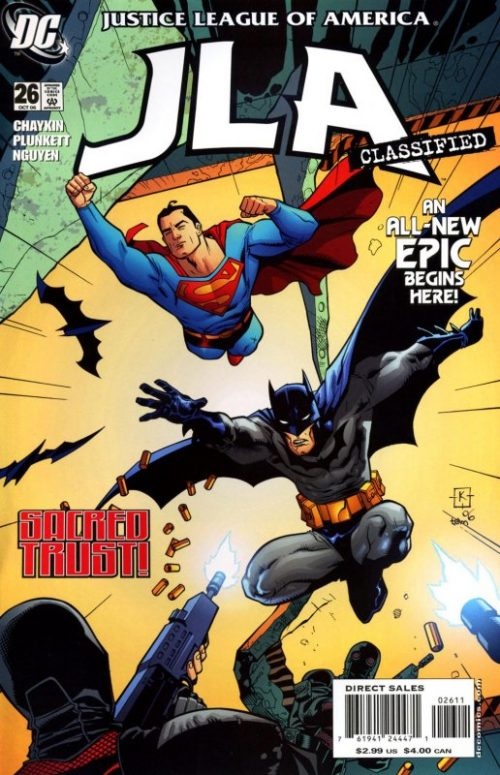 JLA Classified issue 26
