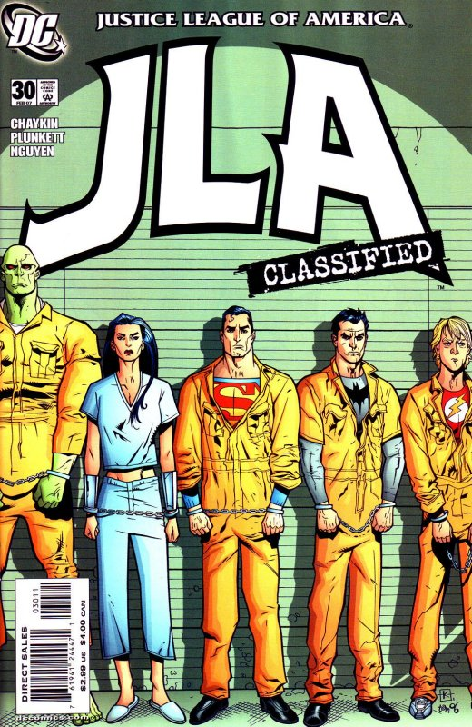 JLA Classified issue 30