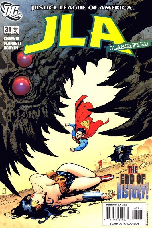 JLA Classified issue 31