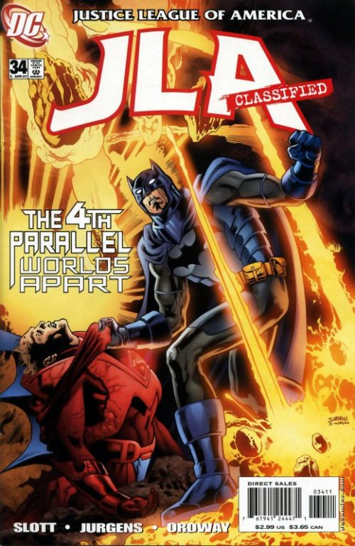 JLA Classified issue 34