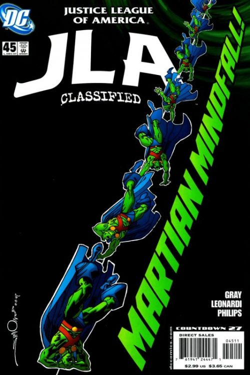 JLA Classified issue 45