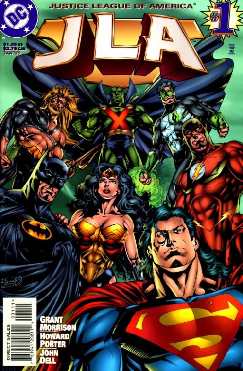 JLA issue 1