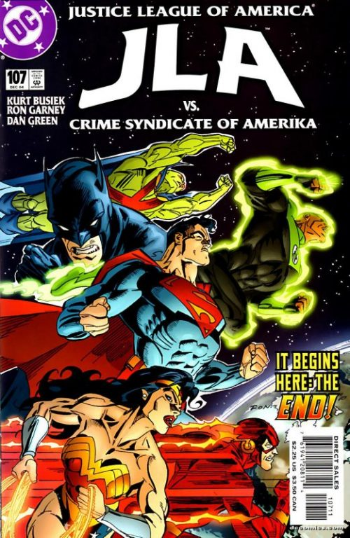 JLA issue 107