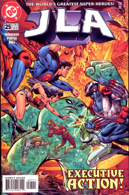 JLA issue 25