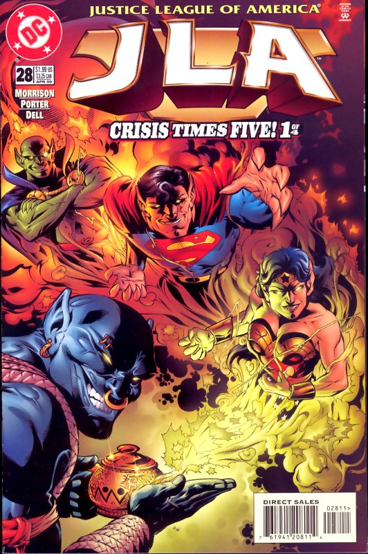 JLA issue 28
