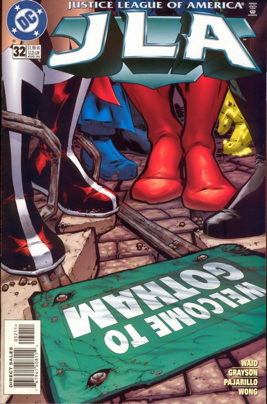 JLA issue 32