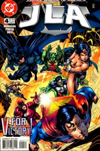 JLA issue 4