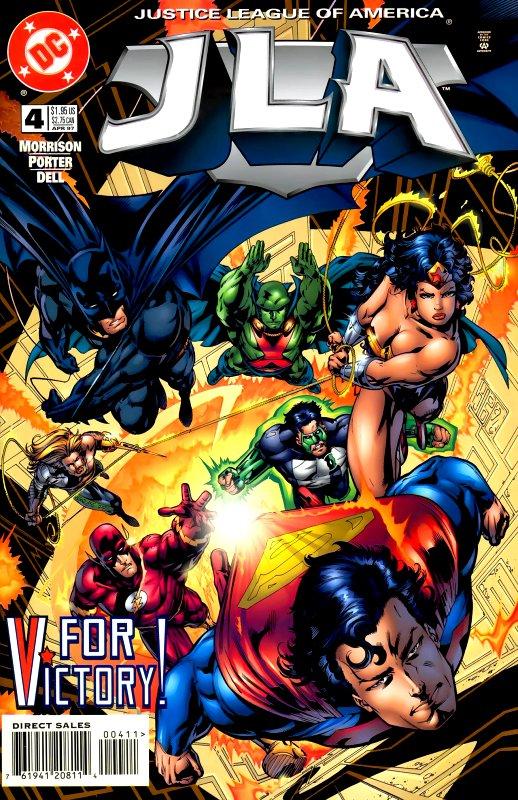 JLA issue 4
