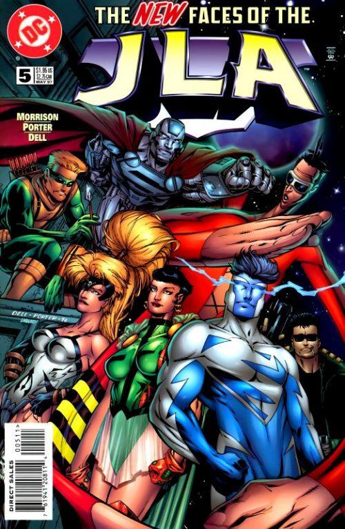 JLA Issue 5