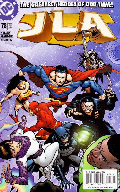 JLA issue 78