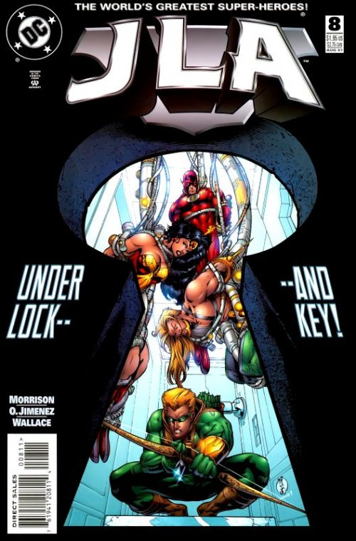 JLA issue 8