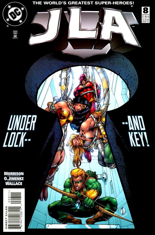 JLA issue 8