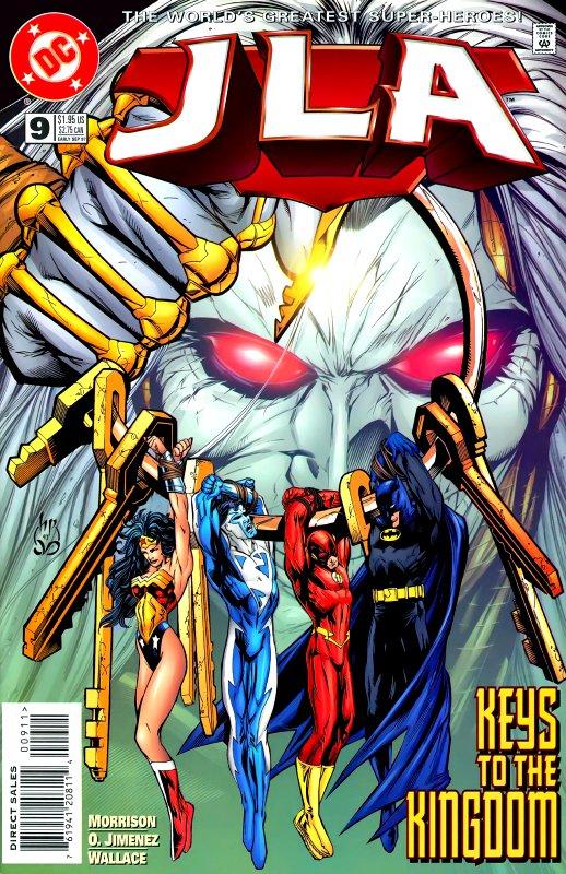 JLA issue 9