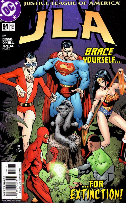 JLA issue 91