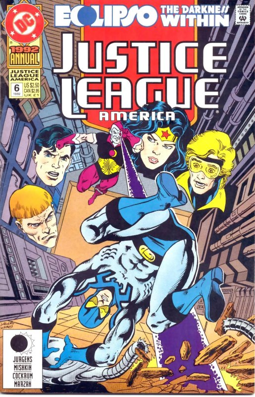 Justice League America Annual issue 6