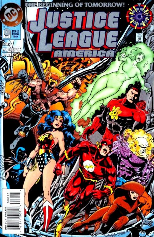 Justice League America issue 0