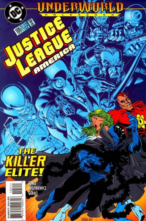 Justice League America issue 105